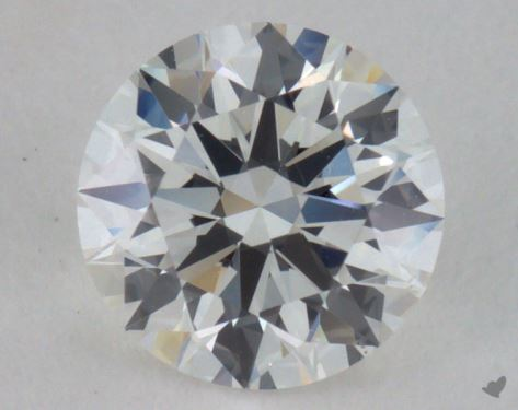 0.65 Carat G-VS2 Excellent Cut Round Diamond