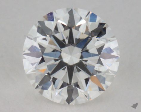 0.50 Carat F-SI1 Excellent Cut Round Diamond