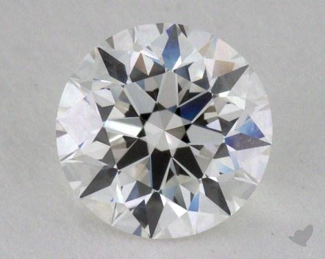 1.23 Carat F-VVS1 Excellent Cut Round Diamond