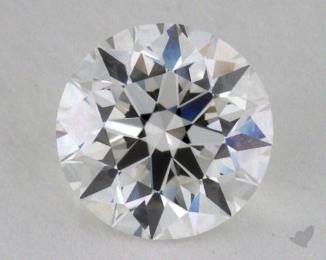 1.23 Carat F-VVS1 Excellent Cut Round Diamond
