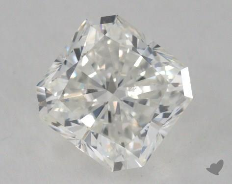 1.60 Carat H-VS2 Radiant Cut Diamond