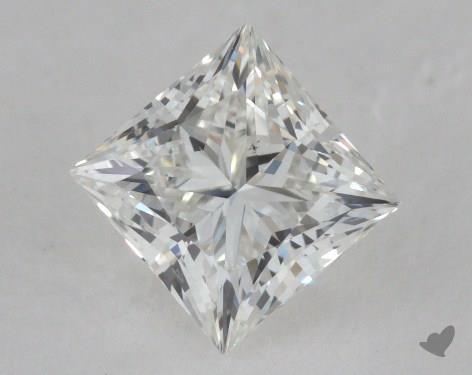 0.91 Carat H-VS2 Ideal Cut Princess Diamond
