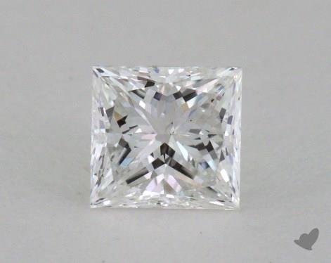 0.50 Carat E-VS2 Very Good Cut Princess Diamond
