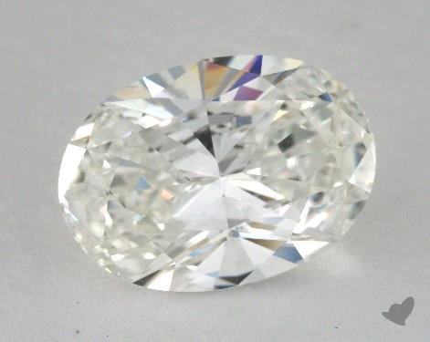 2.02 Carat H-VVS2 Oval Cut Diamond