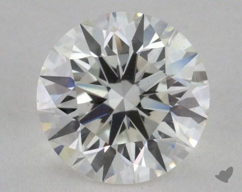 2.38 Carat H-VS1 Excellent Cut Round Diamond