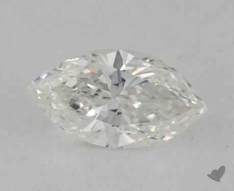 0.68 Carat H-VS2 Marquise Cut Diamond