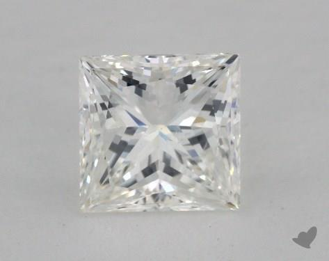 1.51 Carat H-SI1 Ideal Cut Princess Diamond