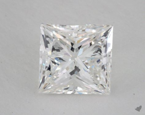 2.51 Carat F-VS2 Princess Cut  Diamond