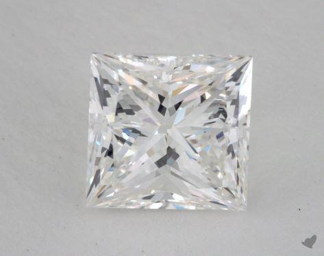 2.51 Carat F-VS2 Ideal Cut Princess Diamond