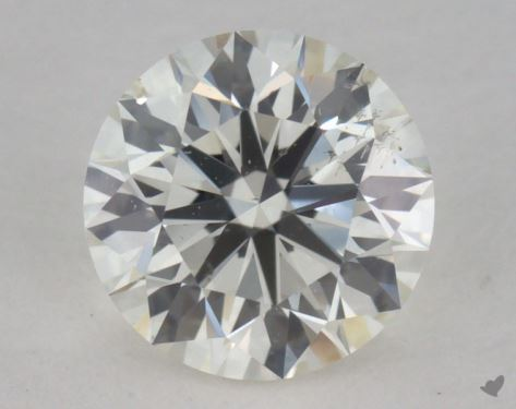 0.85 Carat J-SI1 Ideal Cut Round Diamond