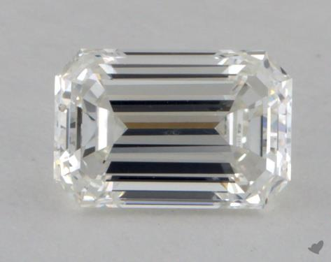 0.71 Carat H-VS2 Emerald Cut Diamond