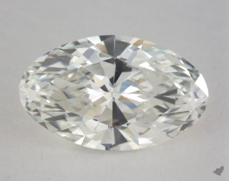 2.44 Carat H-VS2 Oval Cut Diamond