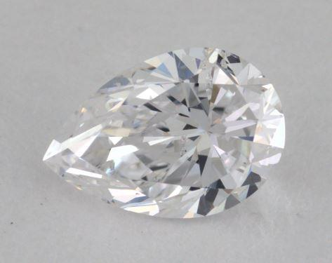 0.70 Carat D-SI2 Pear Shaped  Diamond