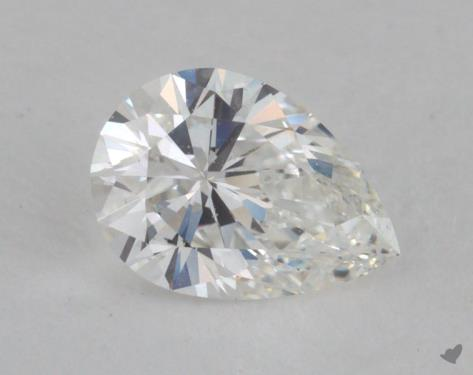 0.51 Carat G-VS1 Pear Shaped  Diamond