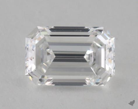 0.58 Carat D-VS2 Emerald Cut Diamond