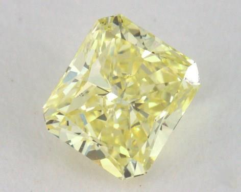 0.52 Carat fancy intense yellow-SI1 Radiant Cut  Diamond