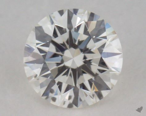0.31 Carat H-SI2 Excellent Cut Round Diamond