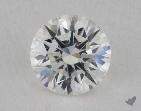 0.32 Carat H-SI2 Excellent Cut Round Diamond