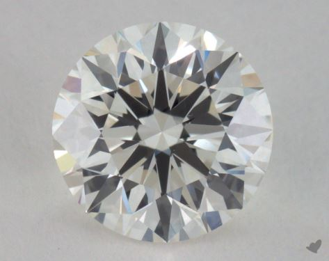 1.52 Carat I-VVS2 Excellent Cut Round Diamond