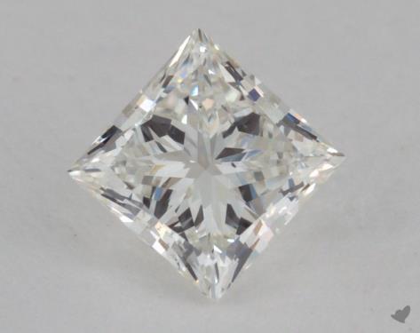 0.70 Carat H-VS2 Very Good Cut Princess Diamond
