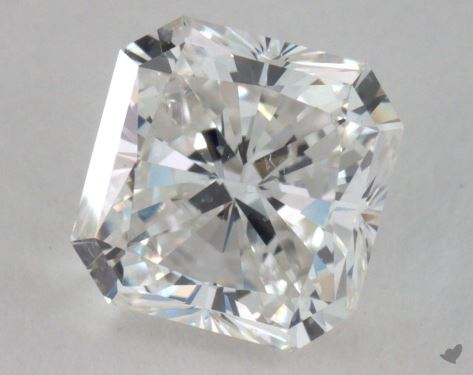 1.51 Carat H-SI1 Radiant Cut Diamond