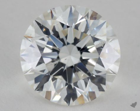 2.38 Carat G-SI2 Excellent Cut Round Diamond