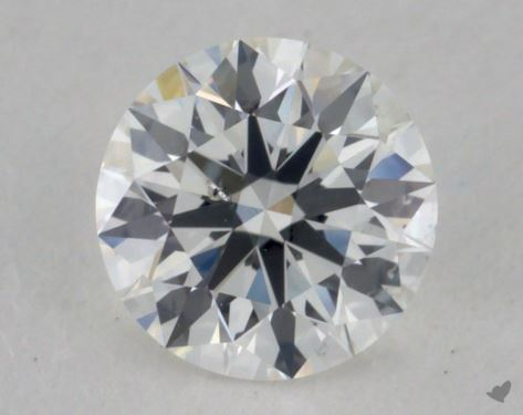 0.50 Carat G-SI2 True Hearts<sup>TM</sup> Ideal Diamond