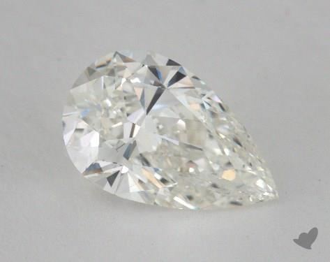 1.61 Carat H-VS2 Pear Shape Diamond