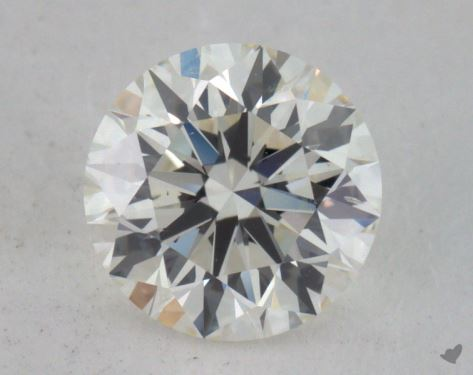 0.90 Carat J-SI1 Excellent Cut Round Diamond