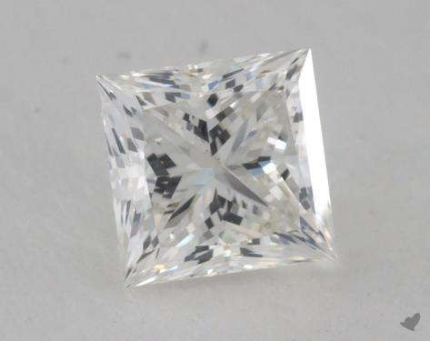 0.82 Carat H-VS2 Princess Cut Diamond