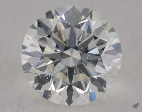0.71 Carat I-SI1 Excellent Cut Round Diamond