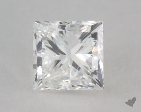 1.00 Carat G-SI2 Very Good Cut Princess Diamond
