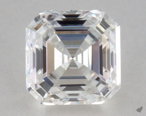 1.26 Carat G-VS2 Asscher Cut Diamond