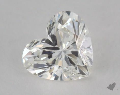 0.83 Carat H-VS1 Heart Shape Diamond