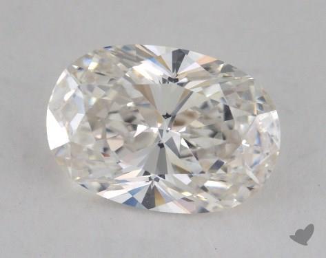 1.57 Carat H-VVS2 Oval Cut Diamond