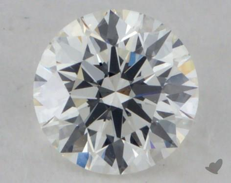 0.51 Carat I-SI1 Excellent Cut Round Diamond