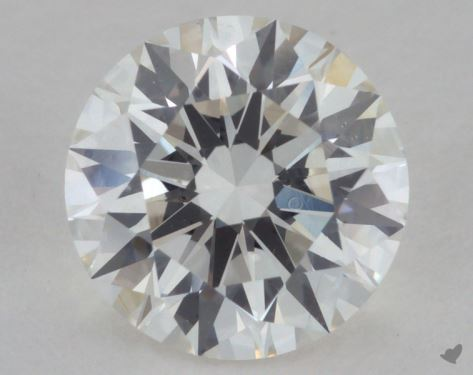 1.43 Carat I-VS1 Excellent Cut Round Diamond