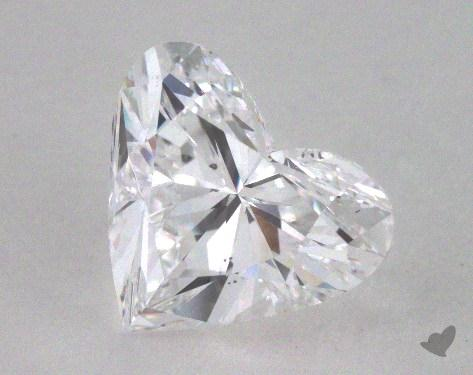 2.01 Carat D-SI1 Heart Shaped  Diamond