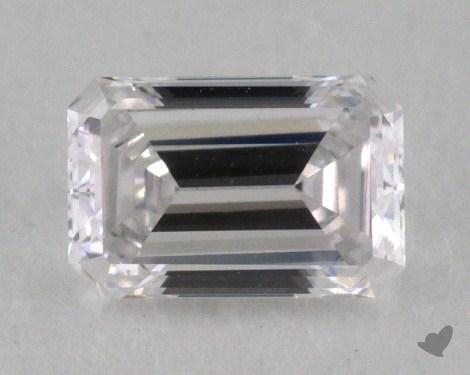 0.39 Carat D-VVS1 Emerald Cut Diamond