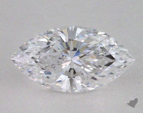 1.59 Carat D-SI2 Marquise Cut Diamond