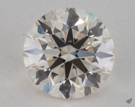 1.21 Carat K-SI1 Excellent Cut Round Diamond