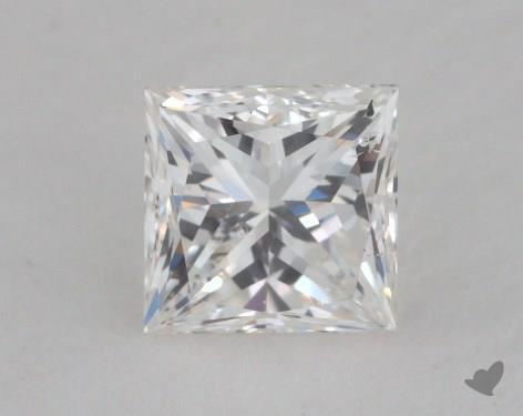 0.83 Carat H-SI1 Very Good Cut Princess Diamond