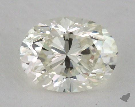 1.40 Carat K-VVS2 Oval Cut Diamond