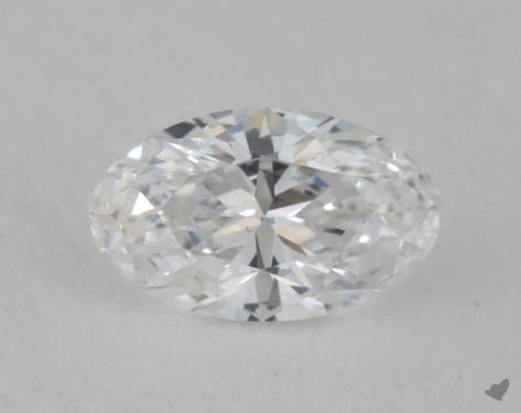 0.51 Carat D-I1 Oval Cut Diamond