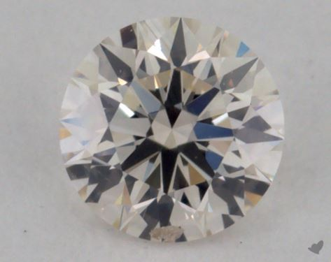 0.32 Carat I-SI1 Excellent Cut Round Diamond