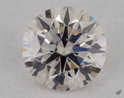 0.32 Carat I-SI1 Excellent Cut Round Diamond