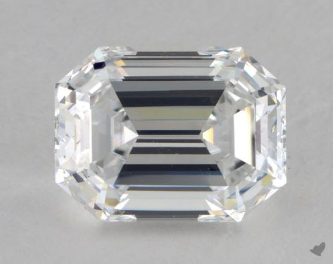 2.02 Carat D-IF Emerald Cut Diamond