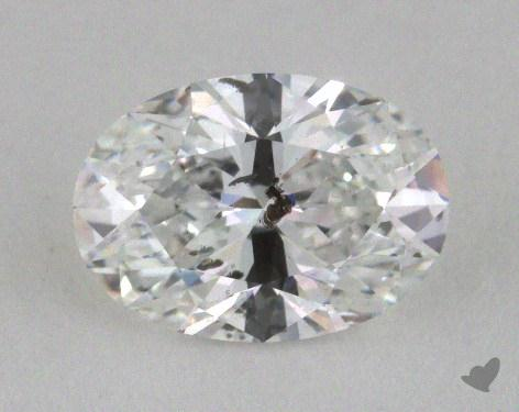 1.04 Carat D-I1 Oval Cut Diamond