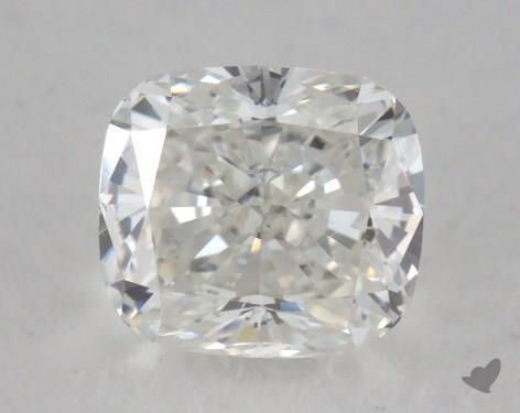 0.57 Carat H-VS1 Cushion Cut  Diamond