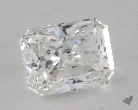 0.94 Carat F-SI2 Radiant Cut  Diamond